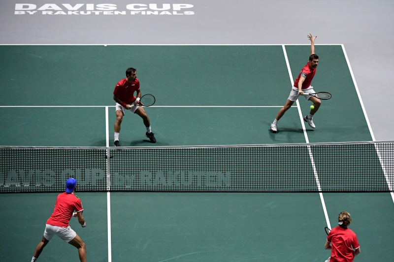 Davis Cup Finals 2019 Results: Monday's Round Robin Scores and Reaction