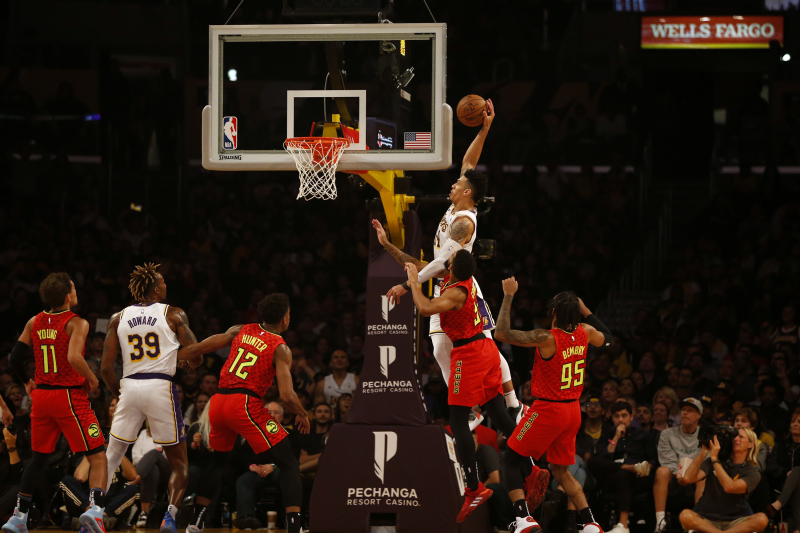 Lakers' Danny Green Tweets He Was Drug-Tested After Putback Dunk vs. Hawks