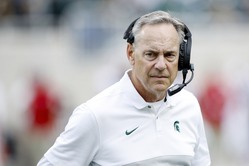 MSU's Mark Dantonio Says He Plans to Remain HC After Blowout Loss to Michigan