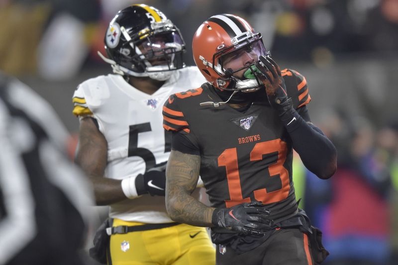 Browns' Odell Beckham Jr. Says Mike Tomlin 'Disrespected' Him with Yawn Gesture