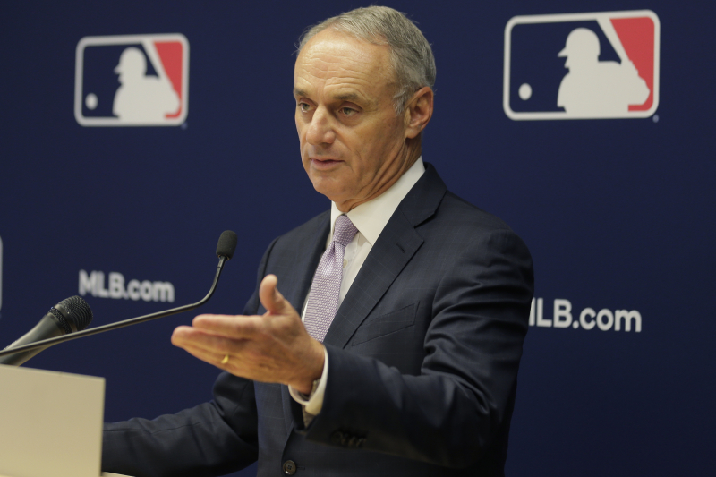 Rob Manfred: MLB Conducting 'Really, Really Thorough Investigation' of Astros