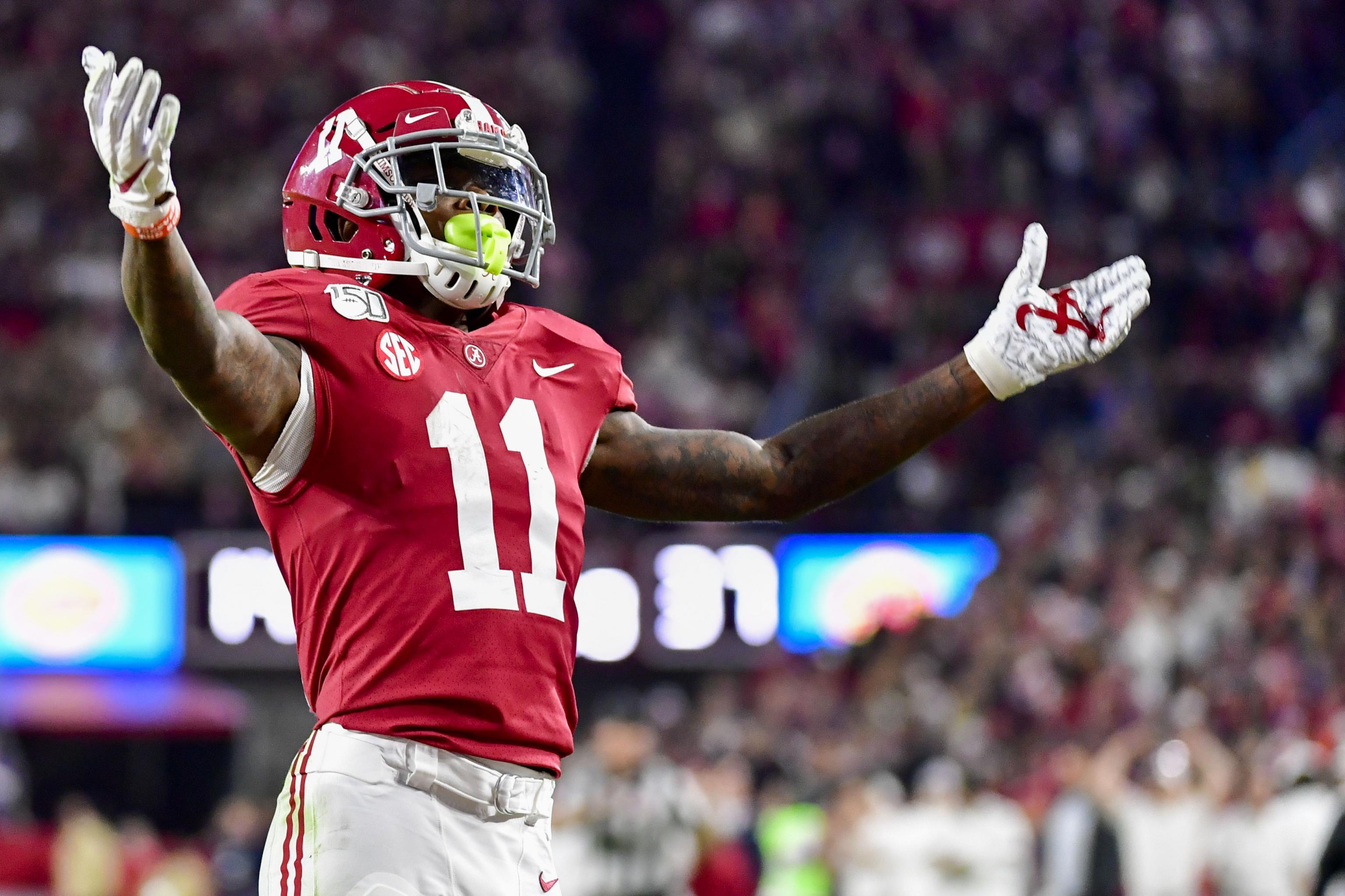Alabama WR Henry Ruggs III Declares for 2020 NFL Draft, Forgoes ...