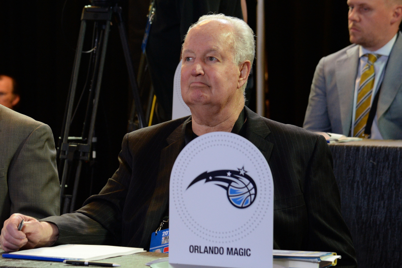 Magic Co-Founder Pat Williams Reportedly Pushing to Bring MLB Team to Orlando
