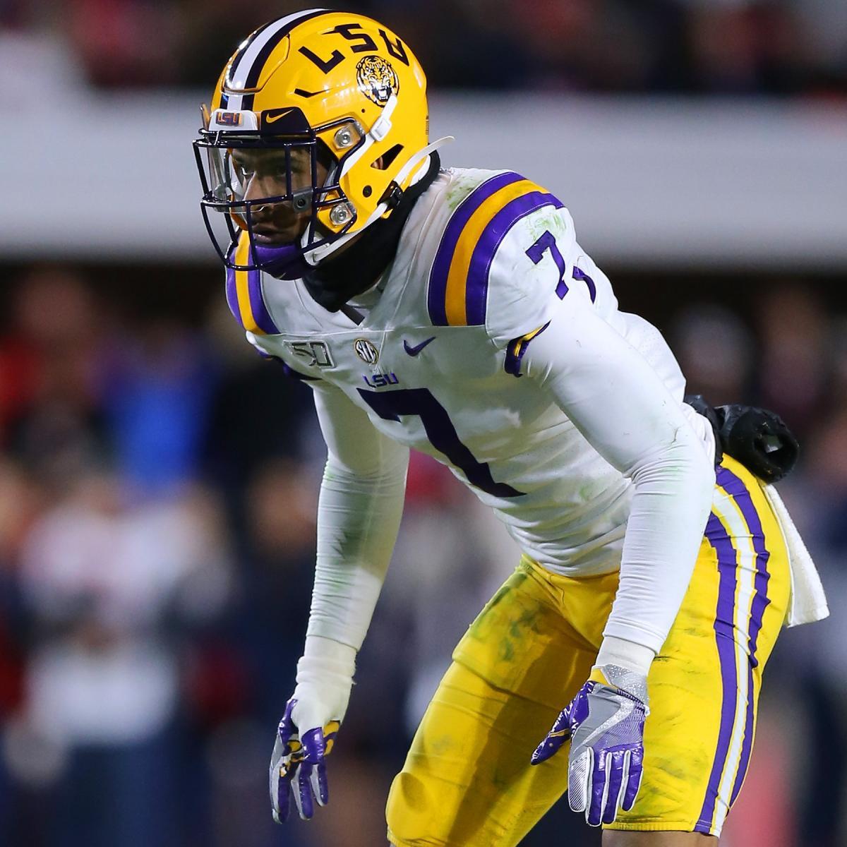 LSU Safety Grant Delpit Declares for 2020 NFL Draft After ...