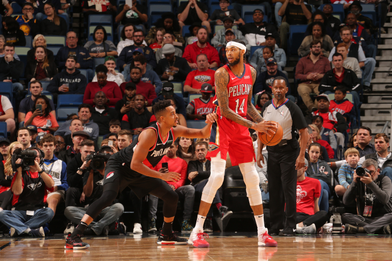 Jrue Holiday, Pelicans Spoil Carmelo Anthony's Trail Blazers Debut with Win