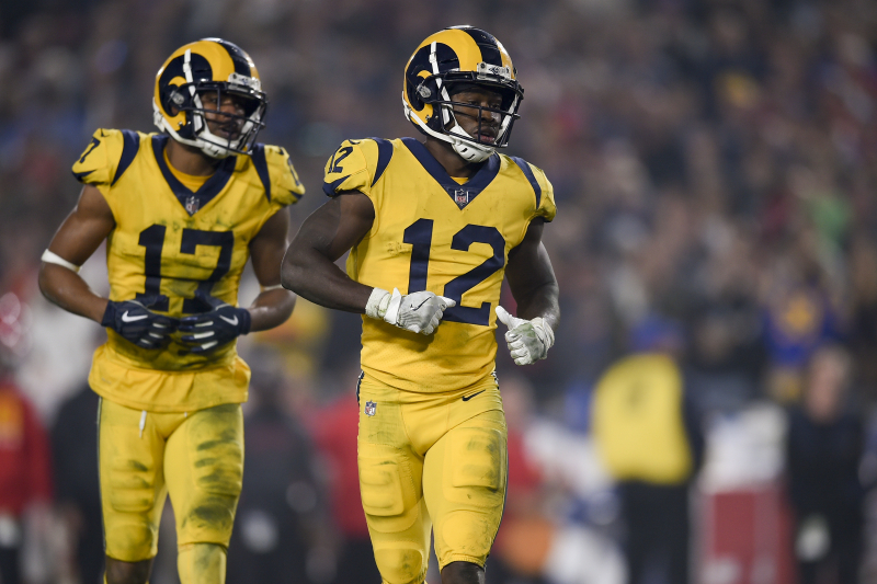 Rams' Brandin Cooks Cleared to Return from Concussion; Robert Woods Still Absent