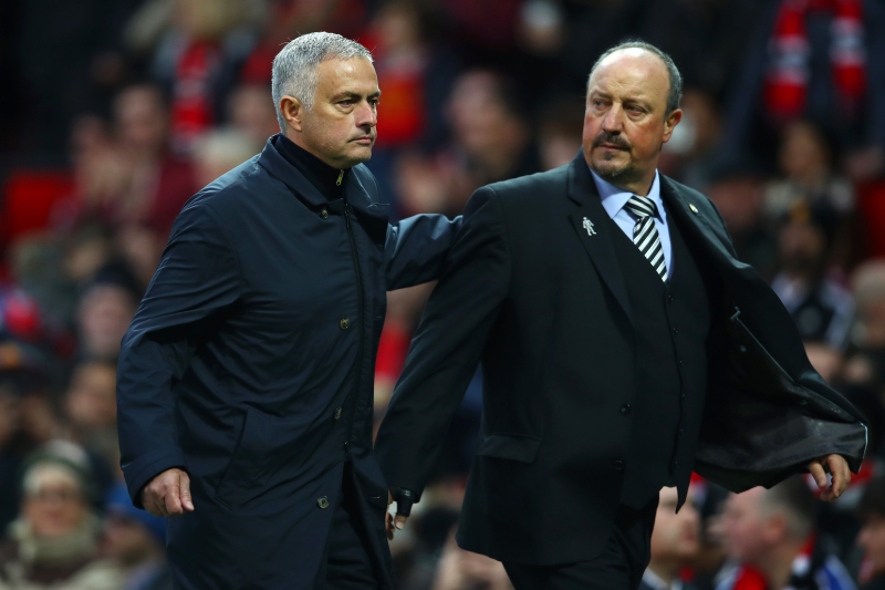 Rafa Benitez Says Rivalry with Jose Mourinho Is 'All Finished Now'