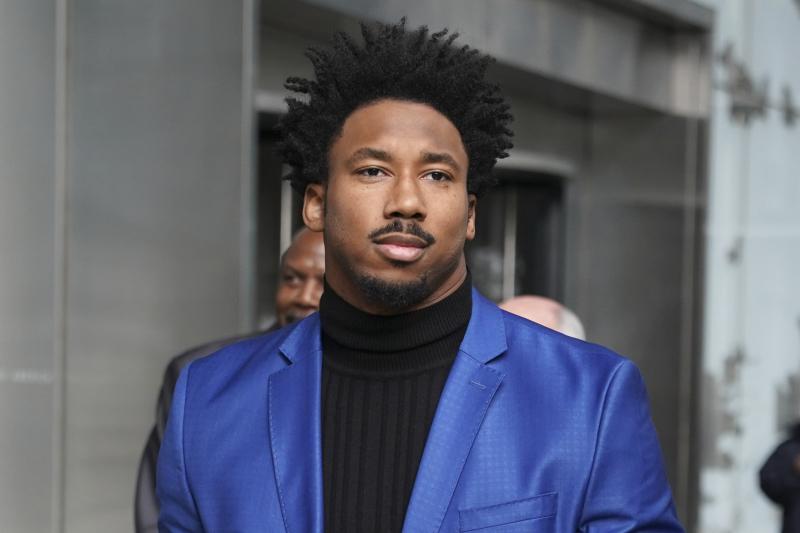 Browns' Larry Ogunjobi's Suspension for Myles Garrett-Mason Rudolph Brawl Upheld