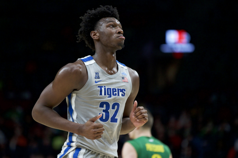 Memphis' James Wiseman Suspended 12 Games, Has to Donate $11.5K to Charity