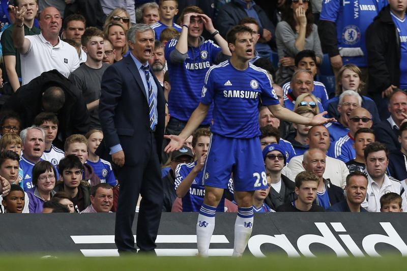 Cesar Azpilicueta Wishes Jose Mourinho 'All the Best' at Tottenham