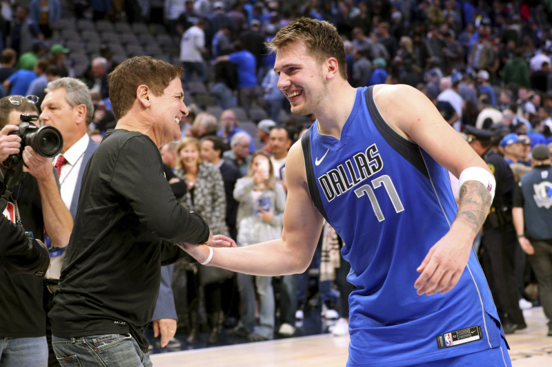 Mark Cuban: Luka Doncic Is a 'Sponge' Compared to Recent Mavericks Players