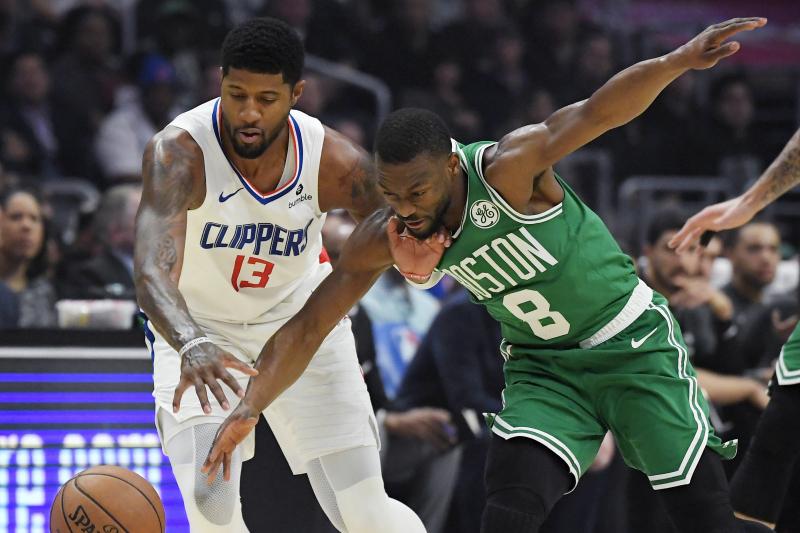 Kawhi Leonard, Paul George Combine to Power Clippers Past Jayson Tatum, Celtics