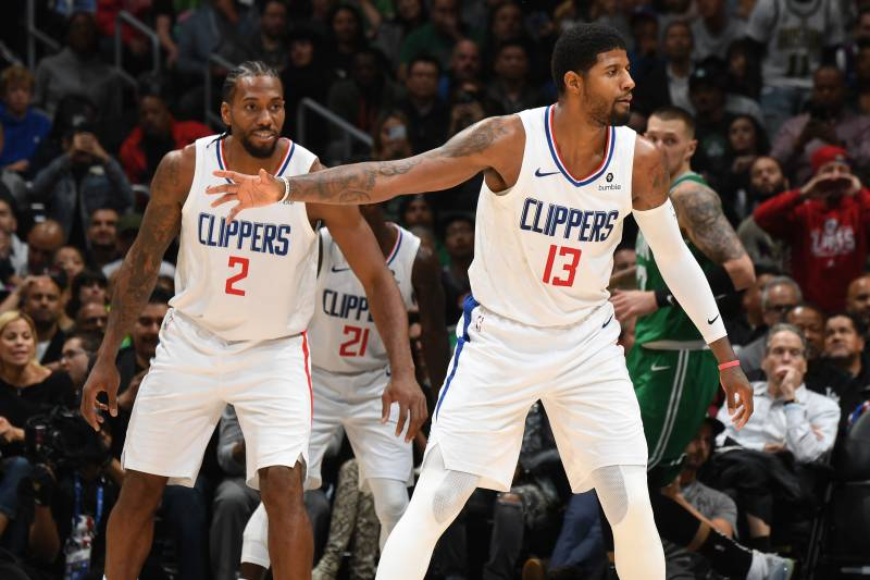 Image result for Paul George and kawhi