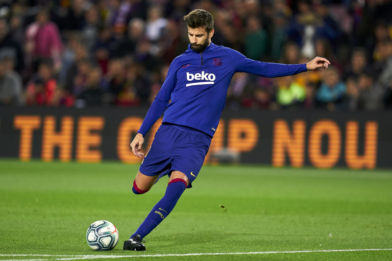 Gerard Pique Says He Will Retire at Barcelona: 'My Intention Is to Get to 2022'