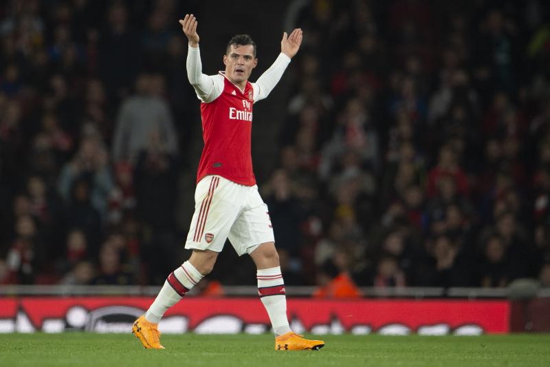 Arsenal's Unai Emery Says Granit Xhaka Could Return to Team vs. Southampton