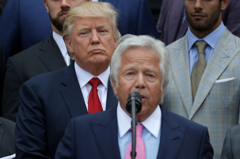 Robert Kraft: Donald Trump 'Divisive and Horrible' on Anthem Protests in 2017