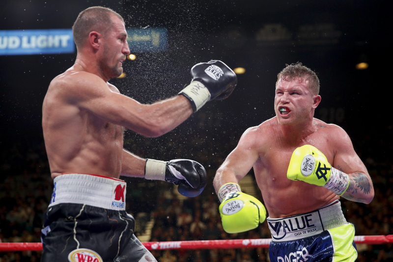 Canelo Alvarez Calls Sergey Kovalev 'Bad Loser' for Using Weight Excuse in Loss