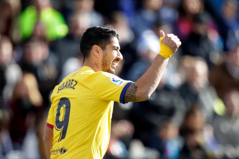 Luis Suarez Scores as Barcelona Escape with Narrow Win vs. Leganes
