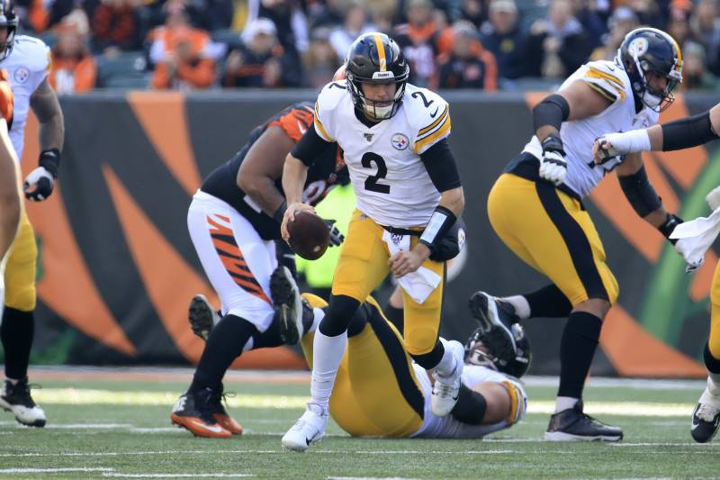 Steelers Mason Rudolph Benched Vs Bengals Replaced By