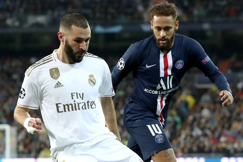 Real Madrid Blow 2 Goal Lead In Draw Vs Psg Qualify For Ucl