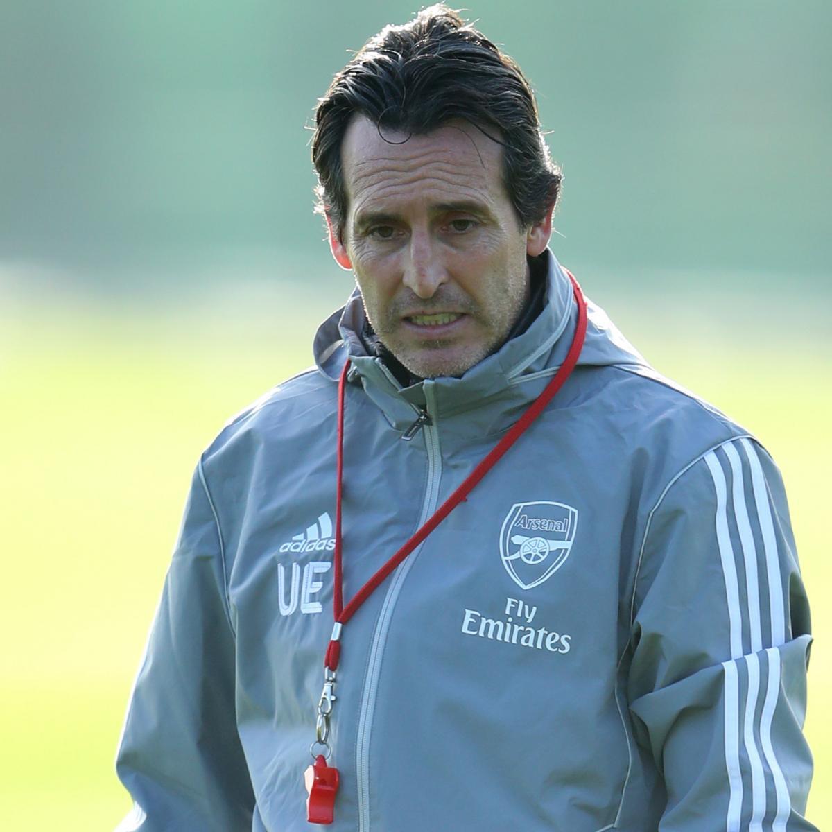 Unai Emery Says His Arsenal 'Future Is Today and Tomorrow' Amid Fan Pressure