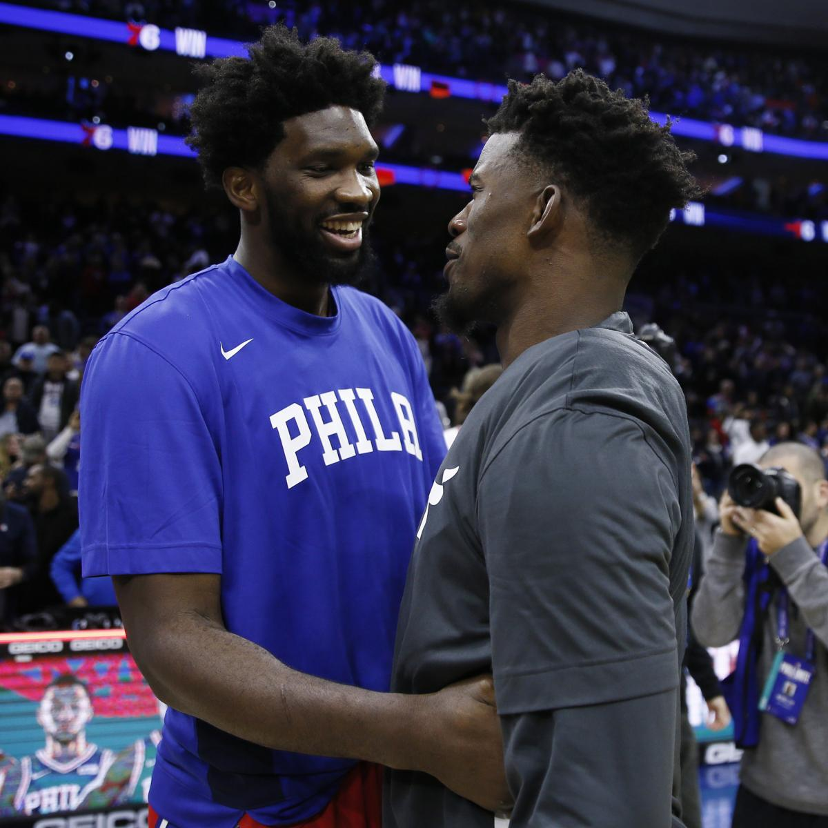 Jimmy Butler Talks 76ers Tenure, Says Some Teammates Didn't Work as Hard as Him