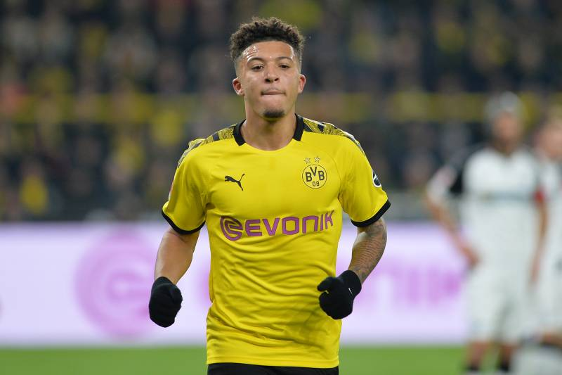 Lucien Favre Says Jadon Sancho Was Benched vs. Barcelona Due to ...