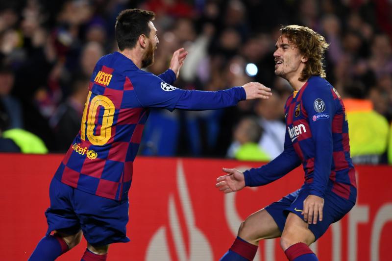 Ernesto Valverde: Lionel Messi, Antoine Griezmann Link Will Improve 'With Time'