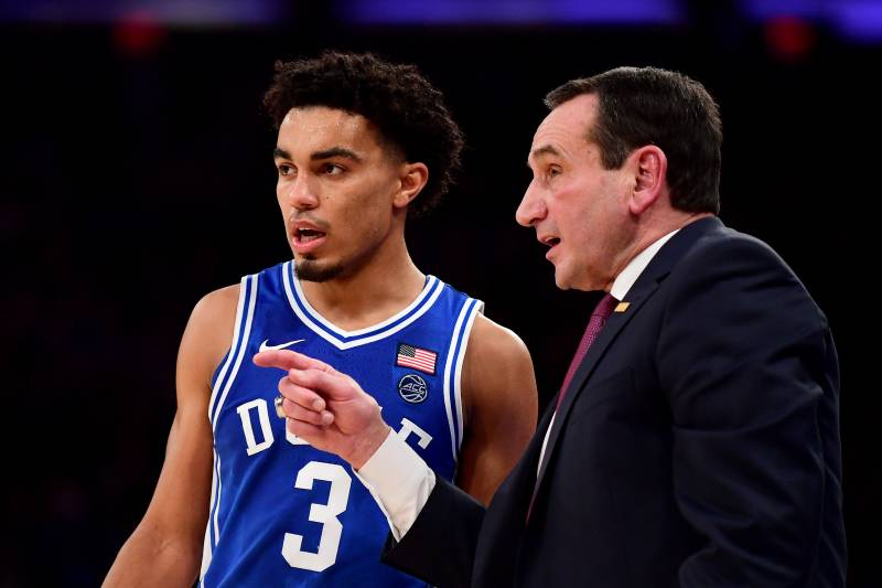 Coach K turning to his leadership lessons