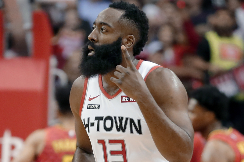 James Harden Goes Off for 60 Points as Rockets Rout Trae Young, Hawks 158-111