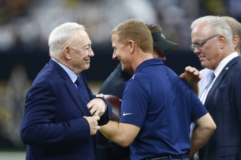 multiple colors half price uk availability Cowboys' Jerry Jones Says Jason Garrett Will Coach in NFL in ...