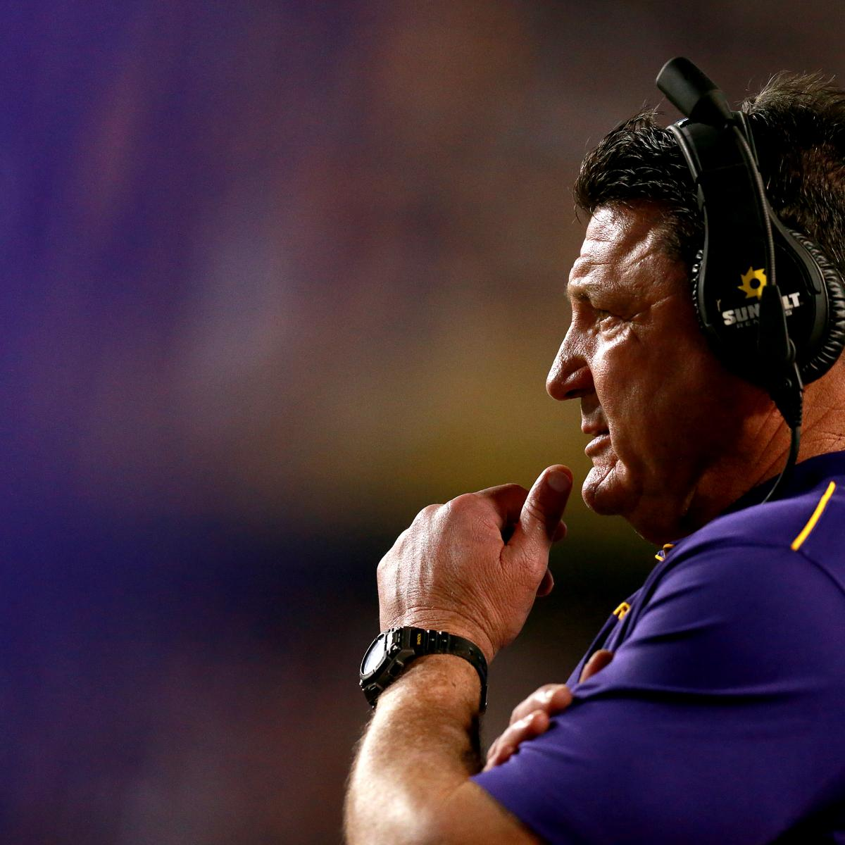 Adam Kramer on College Football: Ed Orgeron's LSU Revival Is Nearly Complete