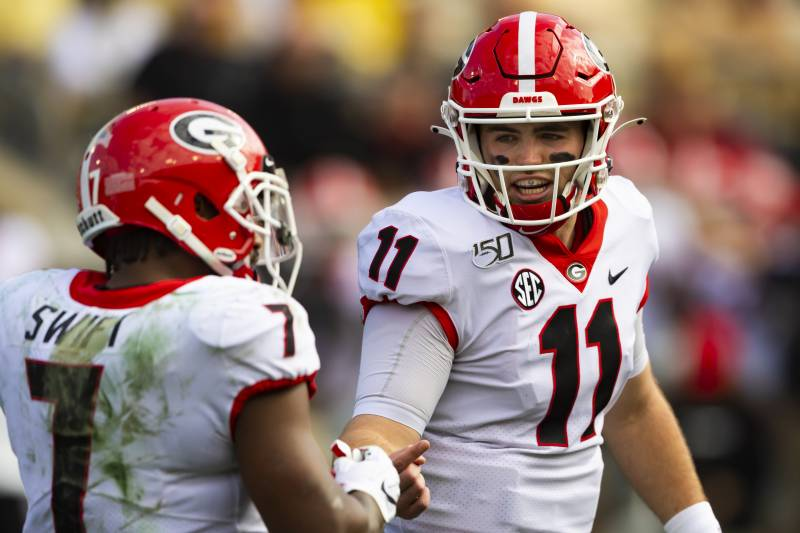 College Football Playoff Rankings All Eyes On Georgia In