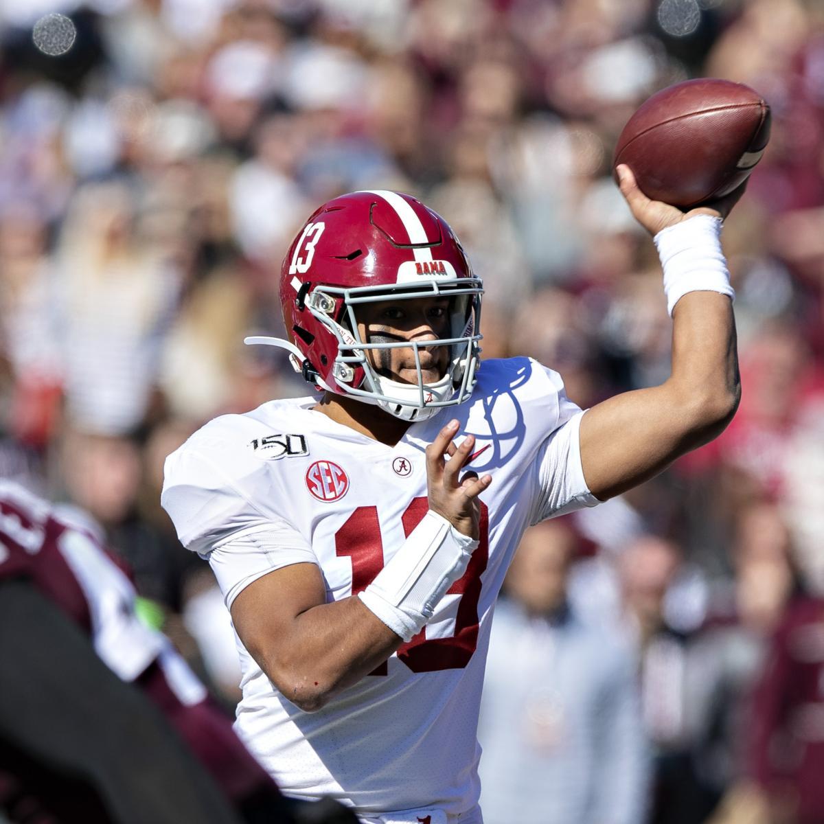 Alabama's Tua Tagovailoa to Consult Family on 2020 NFL Draft 'Business Decision'