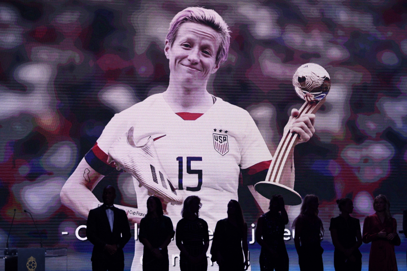 Megan Rapinoe Asks Cristiano Ronaldo, Lionel Messi, Zlatan to Fight for Equality