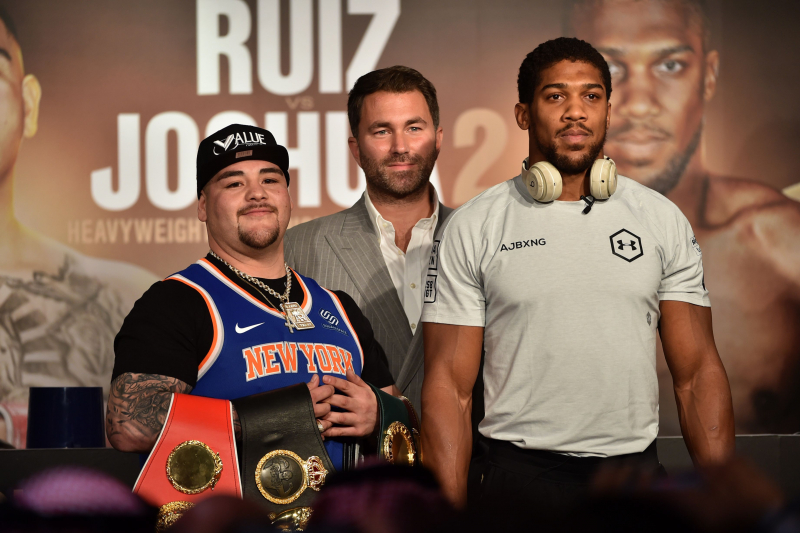 Andy Ruiz vs. Anthony Joshua 2 Fight Odds, Time, Date, Live Stream and TV Info