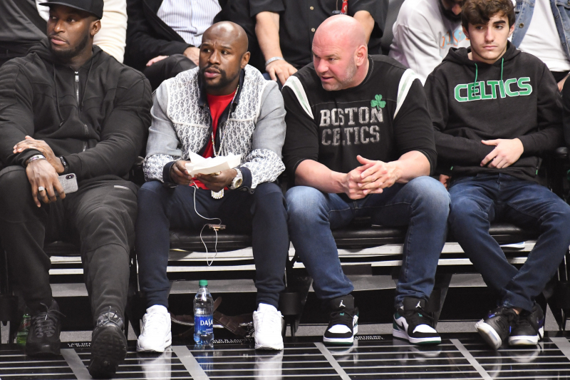 Dana White: Floyd Mayweather Agreed to 2020 UFC Fight at Clippers Game