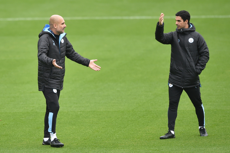 Pep Guardiola Says No Offers for Mikel Arteta Amid Arsenal and Everton Rumours