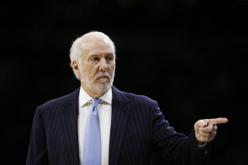 Gregg Popovich Slams Knicks' 'Ridiculous' Decision to Fire David Fizdale