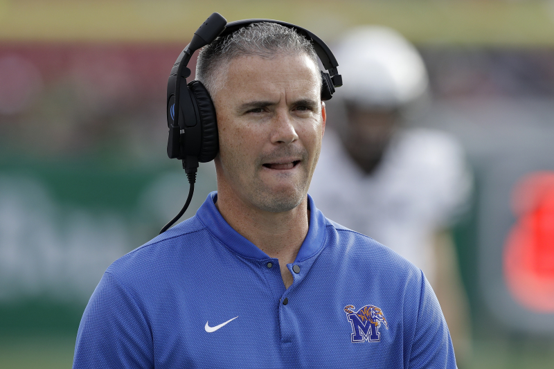 Report: Memphis' Mike Norvell 'Leading Candidate' to Become FSU Head Coach