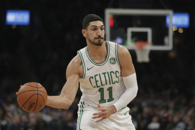 Celtics' Enes Kanter Says He's in Talks for WWE Career After NBA Retirement