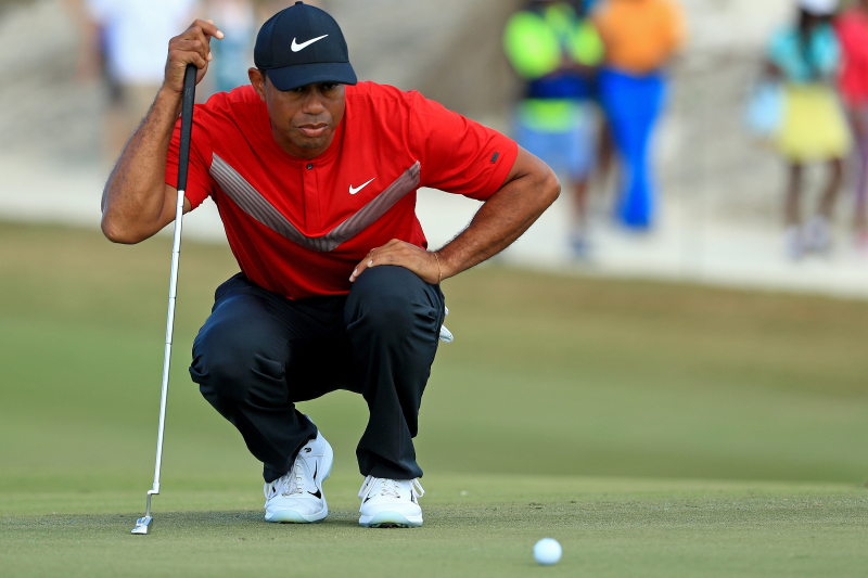 Tiger Woods Loses Final-Round Lead, Finishes 14 Under at Hero World Challenge