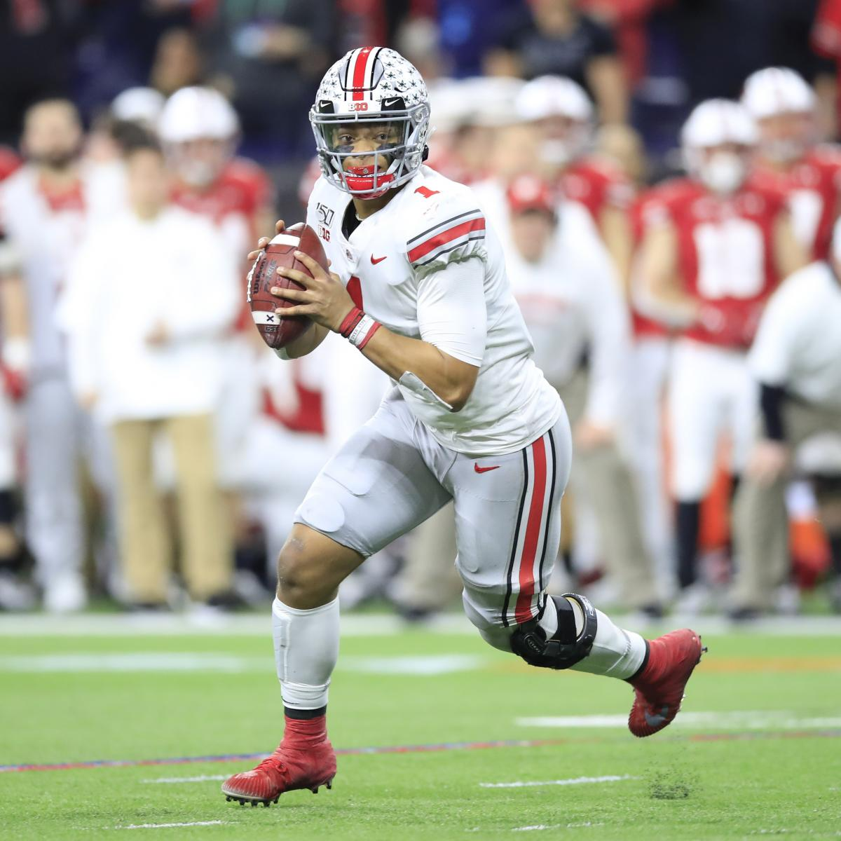 Justin Fields, No. 1 Ohio State Come Back, Beat Wisconsin for 2019 Big Ten Title