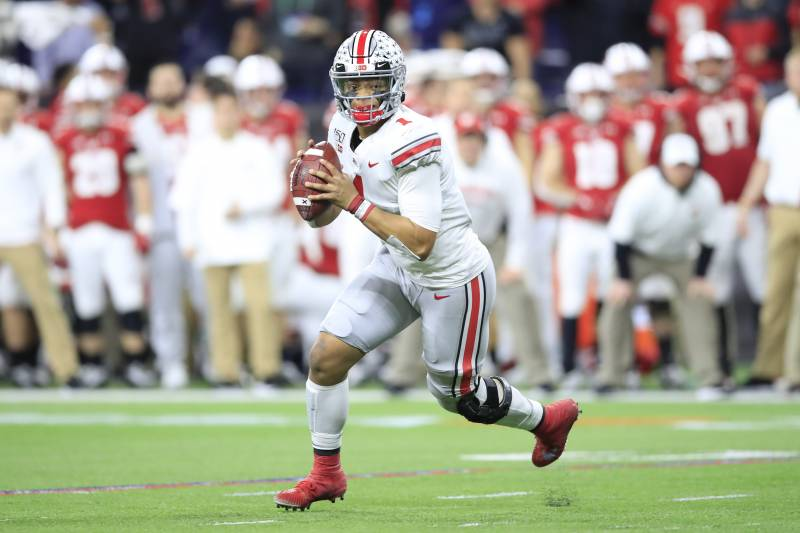 Justin Fields No 1 Ohio State Come Back Beat Wisconsin