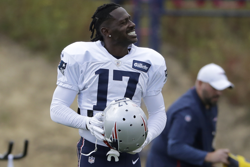 Antonio Brown Rumors: Patriots Won't Sign WR to Contract Despite Apology