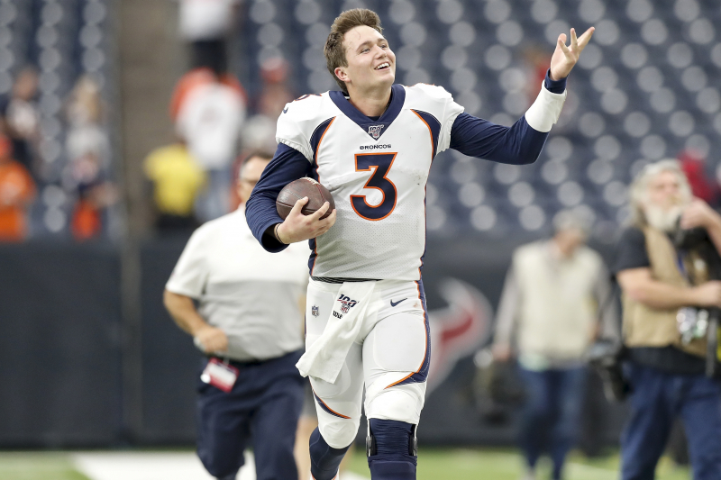 Broncos' Von Miller Calls Drew Lock a 'F--king Rock Star' After Win vs. Texans
