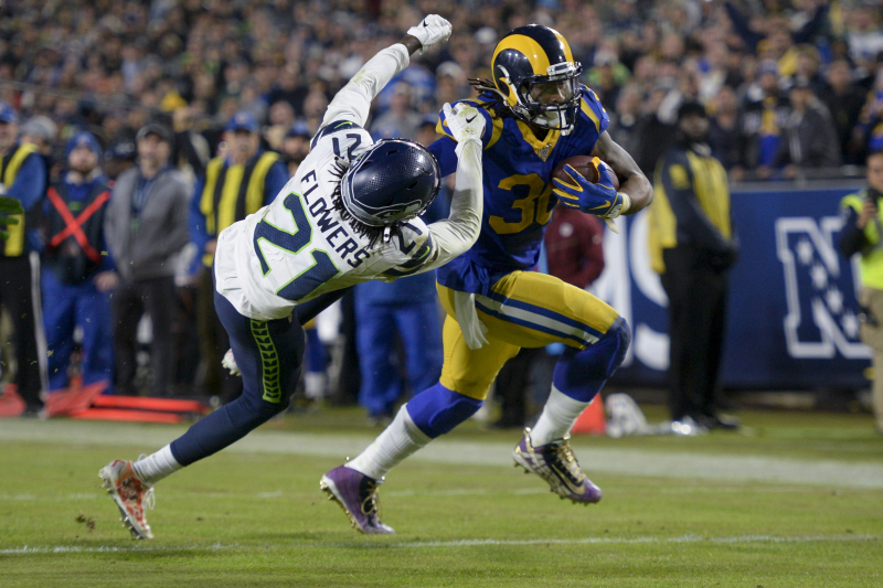Jared Goff, Todd Gurley Lead Rams to Blowout Win over Russell Wilson, Seahawks