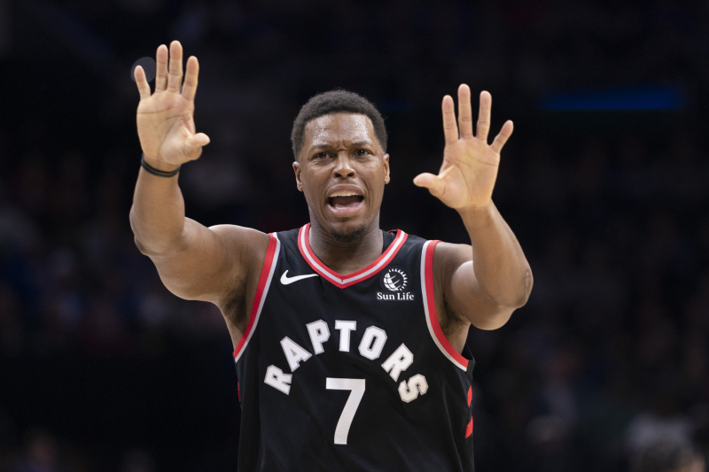 Raptors' Kyle Lowry to Philadelphia Heckler After Loss to 76ers: 'Come See Me'