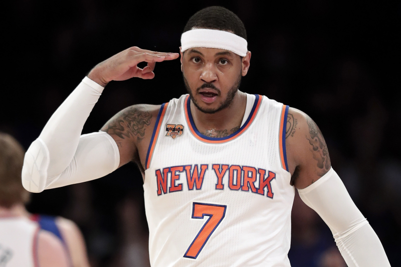 Carmelo Anthony Dishes on 'Challenge' and 'Mentality' Needed to Play for Knicks