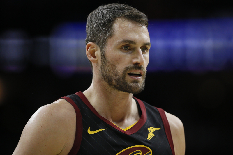 Cavaliers' Kevin Love Responds to Trade Rumors: 'Nothing's Changed'